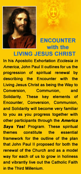 Encounter with the Living Jesus Christ